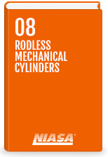 Rodless mechanical cylinder